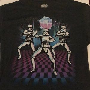 Star Wars dancing storm troopers